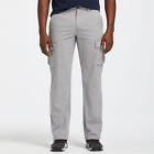 Timberland Men's Tarleton Lake RELAXED FIT Light Grey Cargo Pants A1KYH