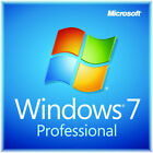 Windows 7 Professional SP1 full install DVD with license NEW pro