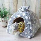 New Warm Soft Pet Dog Cat House Beds Kennel Tent Cushion Mat Indoor house S-L