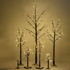 30-88 LED Silver Birch Twig Tree Warm Light White Branches with 8 Functions