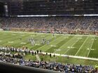 DETROIT LIONS VS GREEN BAY PACKERS  TICKETS  (CLUB SEATS) 1ST ROW