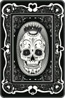 101315 Mexican Day of the Dead Poker Face Card Art Decor WALL PRINT POSTER US