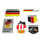 bmw badge stickers - Germany Flag Badge Emblem Metal Sticker Decor for German Car AUDI BMW VOLKSWAGEN