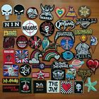Rock Punk Band Cartoon Bike Hipster Sew Iron On Embroidered Patch Applique Badge