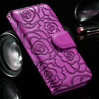 For Samsung S20 Ultra/S10plus/S9/S8/Note10 Wallet Case Flip Leather Flower Cover