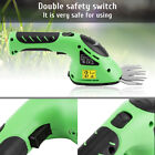 3.6V Lithium-ion Rechargeable Hedge Trimmer Grass Cutter LED Output Power Displa