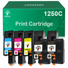 High Yield 1250 Laser Toner Cartridge Set Lot For Dell C1760nw C1765nf C1765nfw