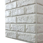 Home Decorating Materials 4~40pcs 3D Brick PE Foam Wall Stickers Background Tile Self Adhesive Panel Decal