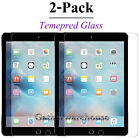 2 Pack Tempered GLASS Screen Protector For iPad 2 3 4 5 6 2017 Pro 9.7 Mini Air