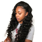 Wavy Pre-Plucked 360 Lace Frontal Wigs Virgin Human Hair with Baby Hair 180%