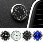 Car Desk Quartz Clock Auto Interior Watch Luminous Stick-On Clock 2018