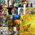 3D/5D Modern Canvas Home Wall Decor Mural Art Oil Painting Picture DIY+Tool Kit
