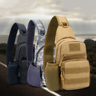 New Men Tactical Molle Chest Pack Single Sling Shoulder Bag Crossbody Pouch