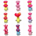 5pcs/lot Bownots Baby Girls Hairpin Pink Headwear Accessory Clip Barrette Gifts