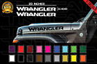 Jeep WRANGLER Hood Decals Stickers Graphics Rubicon JL 2.5