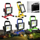10W-50W LEDs Portable Rechargeable FloodLight Camping Lamp Work Light 5 colors