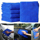 Soft Absorbent Wash Cloth Car Auto Care Microfiber Cleaning Towels Tool US KS