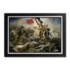 Liberty Leading the People Eugene Delacroix Glossy Poster 11x17 or 24x36in