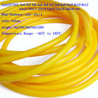 Yellow HIGH TEMP Food Grade Silicone Tube Beer Brew Flexible Hose Pipe Sizes&Len