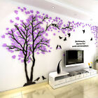 3d Flower Tree Home Room Art Decor Diy Wall Sticker Removable Decal Vinyl Mural