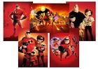 Disney Pixar The INCREDIBLES 2  A5 A4 A3 Textless Movie Poster