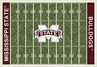 Mississippi State Bulldogs NCAA Home Field Indoor Area Rug