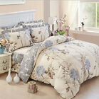 2018 100% Cotton Floral Bedding Duvet Cover Quilt Set Twin Full/Queen King Size