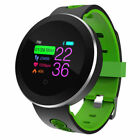Smart Watch Band Heart Rate Oxygen Blood Pressure Fitness Tracker Activity Sport