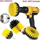 3PCS Tile Grout Power Scrubber Cleaning Drill Brush Tub Cleaner Combo US