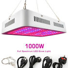 1000W LED Grow Light/Lamp Double Chips LED 100*10WLEDs Full Spectrum For Plants