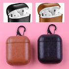 Leather Headset Case Protect Bag Pouch Cover for Apple AirPods Charging