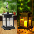 Waterproof LED Solar Garden Light Flickering Flameless Candle Outdoor Lighting