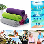 SPORT COOLING TOWEL for Gym Yoga Workouts Running Golf Tennis Fitness Golf Track image