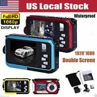 affordable underwater digital camera - 16x Digital Zoom Double Screen HD Camera 24MP Waterproof Dive Camera US Stock