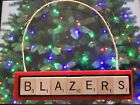 Portland Trail Blazers Christmas Ornament Scrabble Tiles Magnet Rear View Mirror on eBay