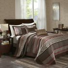 Madison Park Princeton 5 Piece Jacquard Bedspread Set