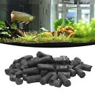 Cylindrical Activated Charcoal Carbon Aquarium Fish Tank Water Deodorize Filter
