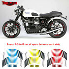 "For TRIUMPH Scrambler MOTORCYCLE 17"" CUSTOM RIM STRIPES WHEEL DECAL TAPE STICKER $18.89 USD on eBay"