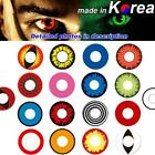 Big Eyes Colored Contacts Lenses Cosplay Party Club Makeup Circle Lens Con Case