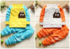 2pc Baby clothes Toddler kids boys girls  top pants outfits