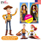 "Toy Story WOODY JESSIE Doll 15"" Talking Action Figure Kids Toy Gift Set"
