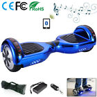 6.5&quot; Smart Electric Scooter Self Balancing Scooter Balance Board Bluetooth LED <br/> WARRANTY✅CE&amp;FCC&amp;RoHS✅Safety Battery✅UK STOCK