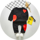 2pcs baby girls outfits pullover top+ pants Kids girls tracksuit outfits &set