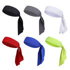 Внешний вид - Mesh Head Tie Headband Sports Moisture Wicking Tennis Head Band Tie Back GOGO