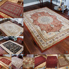 SMALL - LARGE ROYAL CLASSIC 100% WOOL RUG NEW ORIENTAL TRADITIONAL RUGS & RUNNER