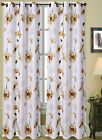 1PC PANEL GROMMET LINED BLACKOUT WINDOW DRESSING NATURE PRINTED CURTAIN DRAPE