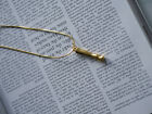 Alphabet Letter Initial Pendant Necklace Brass Gold Plated A to Z  <br/> REAL UK SELLER! 1ST CLASS DISPATCH! CHEAPEST ON EBAY!