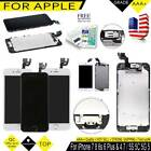 LCD Touch Screen Replacement Display For iPhone 5 6 7 Plus 6s SE 5C Full Button