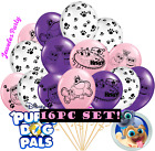 She PUPPY DOG PALS BIRTHDAY BALLOON BALLOONS PARTY DECORATION SUPPLY paw print