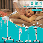 Facial Steamer Skin Care Ozone with Rolling Wheel Stand 2 in 1 5X Available